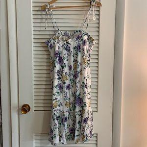 American Eagle midi dress NWT size Large, floral